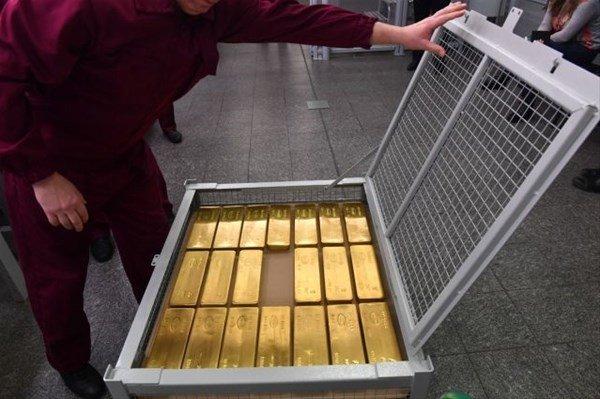 Rusya`nın altın deposu