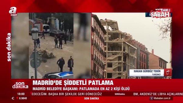 Son Dakika: Madrid'de patlama: Çok sayıda ölü ve yaralı var | Video