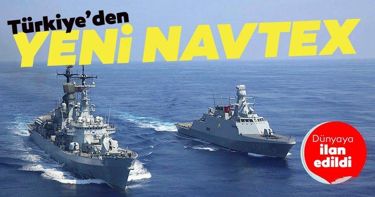 Son dakika: Türkiye'den yeni Navtex kararı!