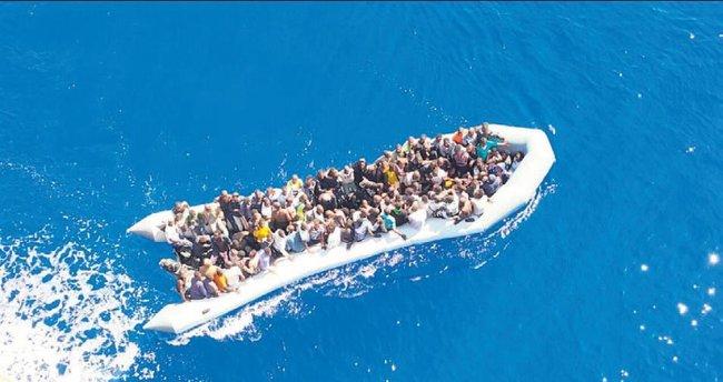 123 göçmeni Türk gemisi kurtardı