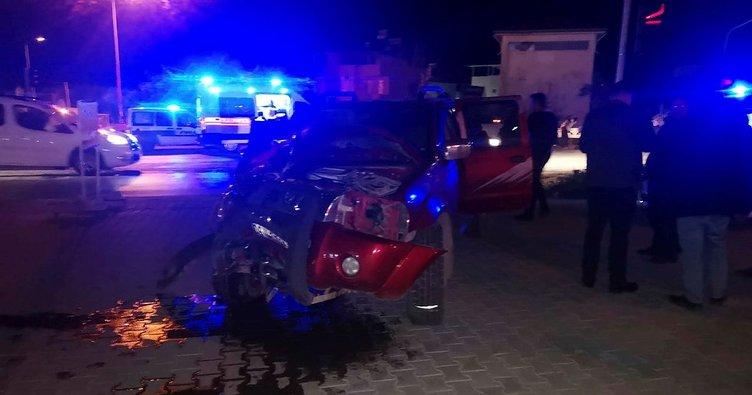 Alkollü sürücü dehşet saçtı: 4 yaralı
