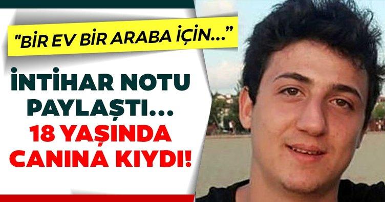 SON DAKİKA: Instagram'dan intihar notu paylaşan Furkan Celep ölü bulundu! 18 yaşındaki Furkan Celep genç yaşta intihar etti