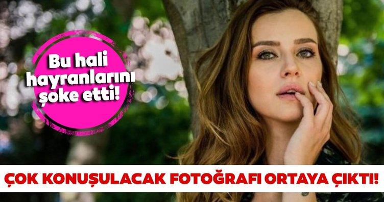 Sen Anlat Karadeniz'in yıldızı İrem Helvacıoğlu çocukluk fotoğrafıyla şaşırttı