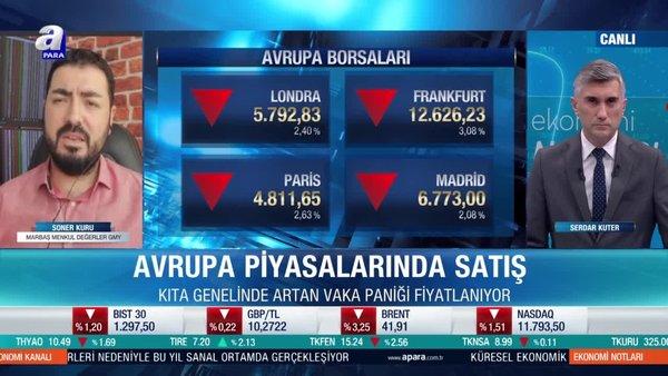 Avrupa piyasalarında Covid-19 paniği!