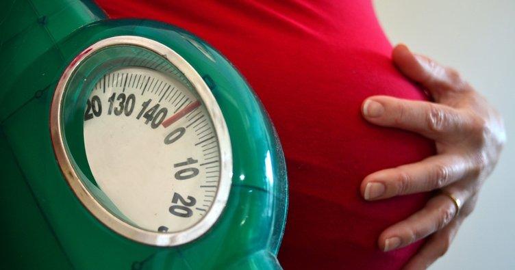 Hamilelikte alınan fazla kilolar o durumu tetikliyor!