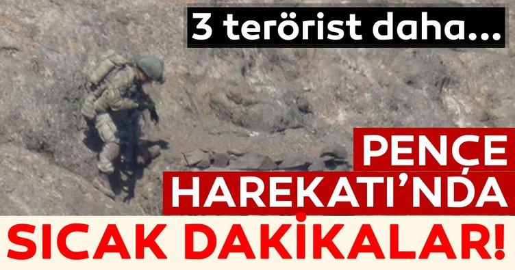Son Dakika: Pençe Harekatı'nda 3 terörist daha etkisiz hale getirildi!
