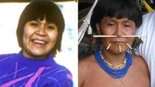 Annesini Amazon'da buldu