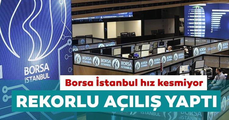 Borsa İstanbul'dan rekor açılış!