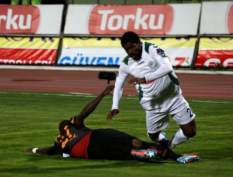 T. Konyaspor - Galatasaray maçının fotoğrafları