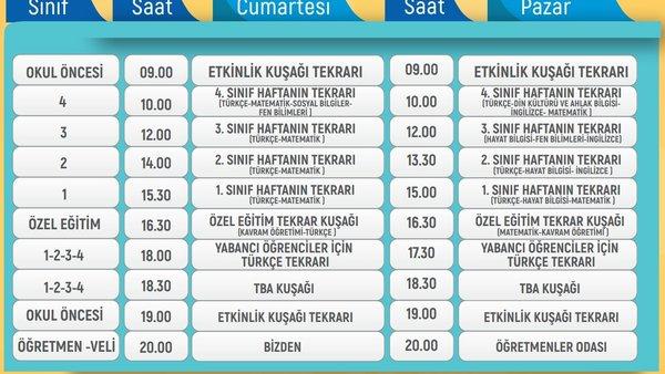 TRT EBA TV izle! (6 Mart Cumartesi) | HAFTA SONU | Ortaokul, İlkokul, Lise ders tekrarları... EBA TV ders programı giriş ekranı