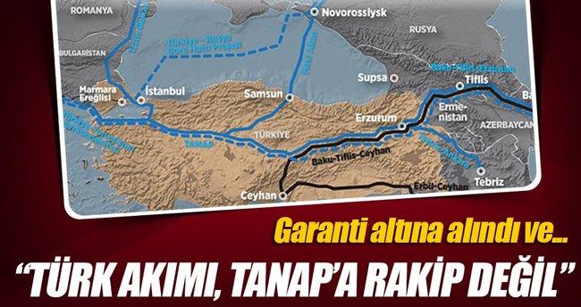 Türk Akımı TANAP'a rakip değil