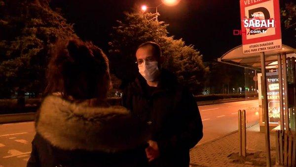 Samsun'da otobüs bekleyen genç kadına sapık dehşeti