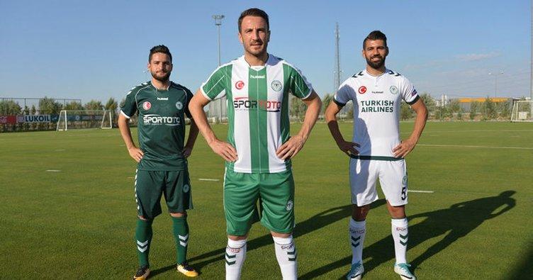 İşte Konyaspor'un yeni sezon formaları