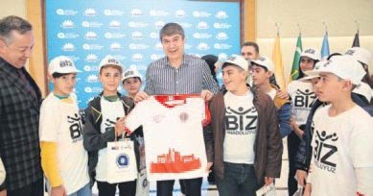 Türel'in konuğu Bitlisli çocuklar