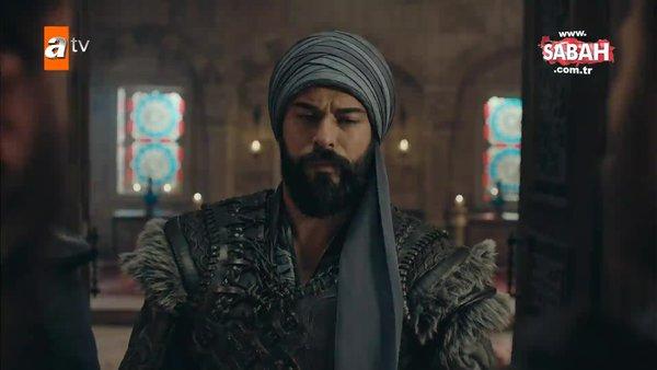 Kuruluş Osman'da heyecan dolu sahne: Osman Bey, Sultan'ın huzurunda Moğol Valisi'ne haddini bildirdi   Video