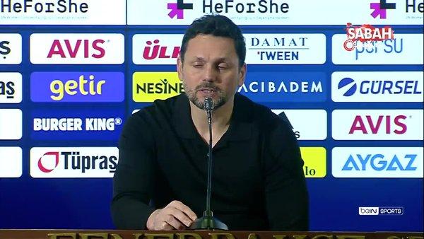 Göztepe yenilgisi ardından Fenerbahçe Teknik Direktörü Erol Bulut'ta flaş açıklamalar   Video