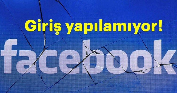 Son dakika: Facebook çöktü mü? Facebook'a giriş yapılmıyor - Neden girilmiyor?