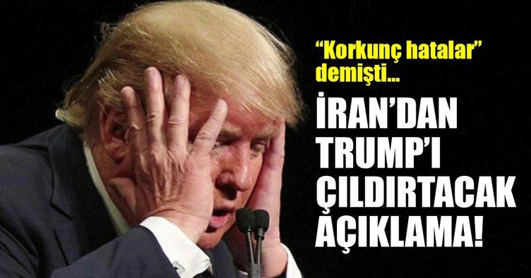 Son Dakika Haberi: İran'dan Trump'ı çıldırtacak açıklama