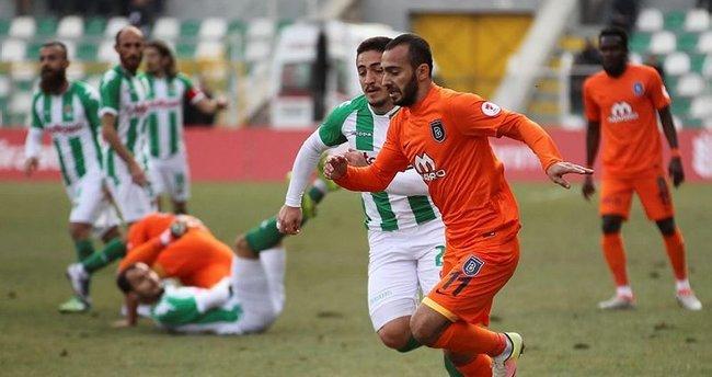 Başakşehir kupada tek golle kazandı
