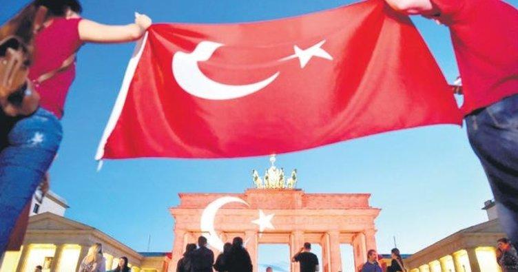 Almanya'nın dörtte biri göçmen