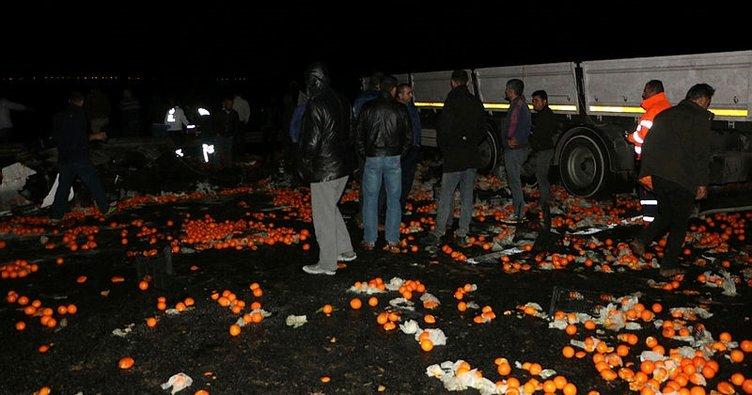 Şanlıurfa'da iki tır çarpıştı: 2 ölü, 1 yaralı