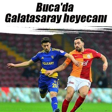 Buca'da Galatasaray heyecanı