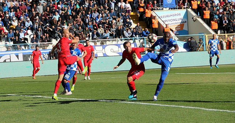 Maç Sonucu | Büyükşehir Belediye Erzurumspor 0-0 Akhisarspor