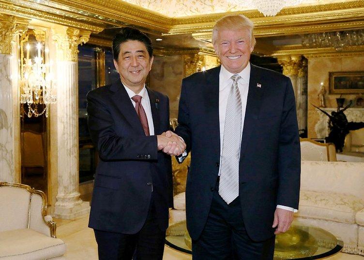 Japonya Başbakanı Abe'den Trump yorumu