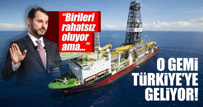 Türkiye'nin ilk sondaj gemisi Deepsea Metro-2 geliyor!