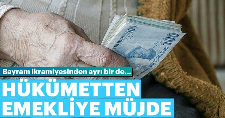 Emekliye erken maaş + bayram ikramiyesi