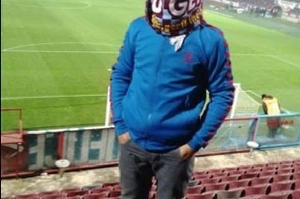 O holigan Fenerbahçe maçına bıçakla girmiş