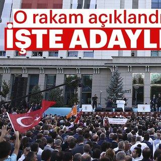 Son dakika: AK Parti'ye 7 bin 180 kişi, belediye başkanlığı aday adaylığı başvurusunda bulundu