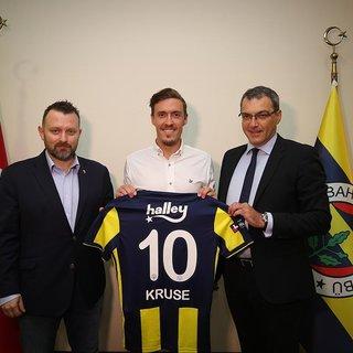Fenerbahçe, Max Kruse'yi resmen açıkladı! 3 yıllık sözleşme