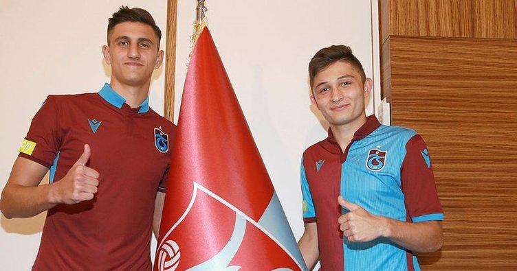 Son dakika: Trabzonspor, Salih Kavrazlı ve Atakan Gündüz'ü KAP'a bildirdi