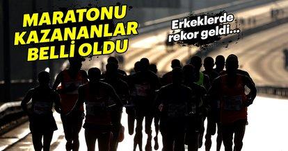 Vodafone 40. İstanbul Maratonu'nu kazanan isimler belli oldu!