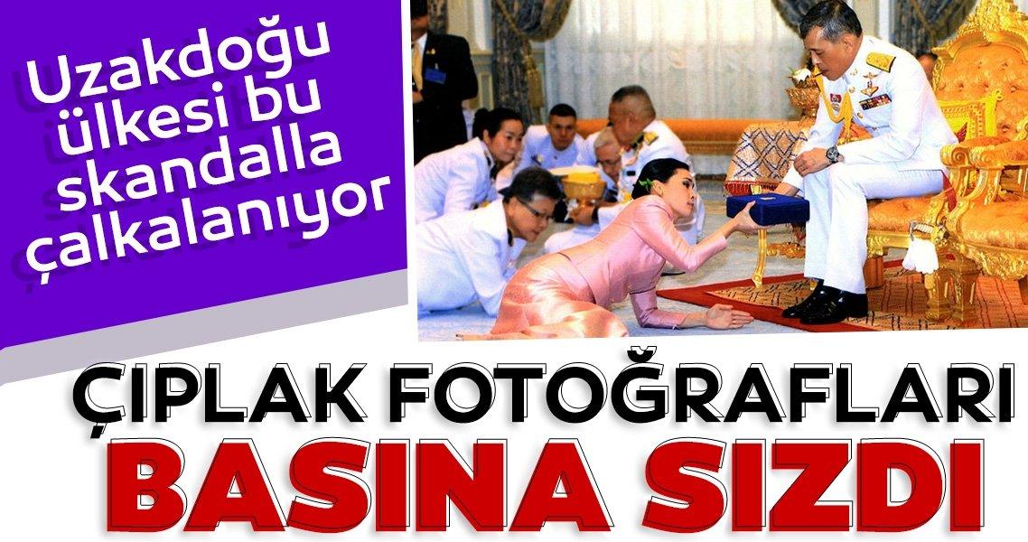 Son dakika: Ülke bu olayla sarsıldı! Tayland kralının sevgilisinin çıplak fotoğrafları basına sızdı