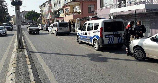 'Dur' ihtarını duymayan sürücü polisi alarma geçirdi