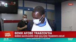 Yeni transfer Afobe Trabzon'a geldi