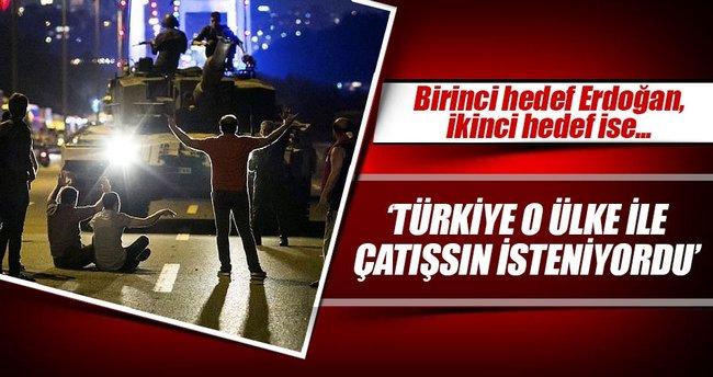 Birinci hedef Erdoğan ikinci hedef Putin'di