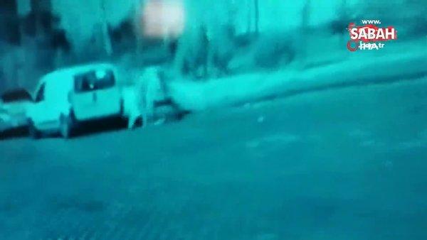 DEAŞ'lıların infaz ettikleri örgüt üyesini, dikkat çekmemek için tekerlekli sandalyeyle çıkardığı ortaya çıktı   Video