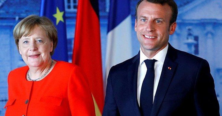 Merkel ve Macron euro için yeni sayfa açtı