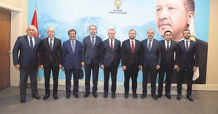 AK Parti'de kan değişimi