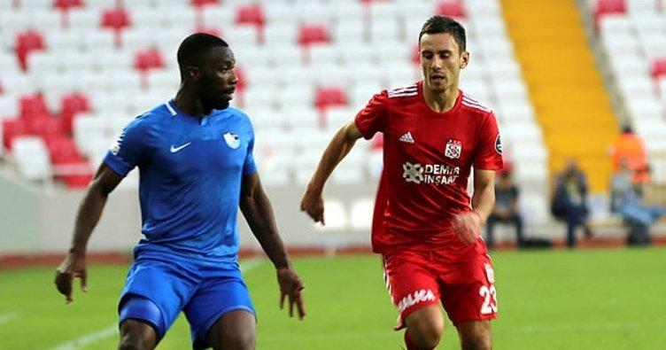 Sivasspor ve BB Erzurumspor puanları paylaştı