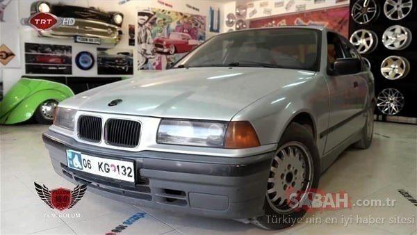 Kimse BMW arabanın böyle olmasını beklemiyordu! Uzman ekip yeteneklerini konuşturdu