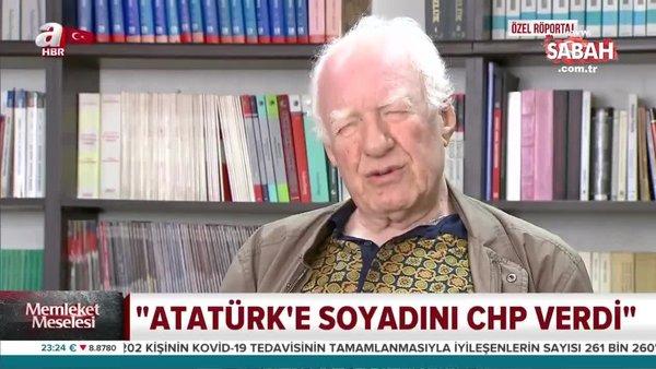 Uğur Mumcu'nun ağabeyi Ceyhan Mumcu A Haber'de Canan Kaftancıoğlu ve CHP'ye yüklendi: Atatürk'e soyadını CHP verdi   Video