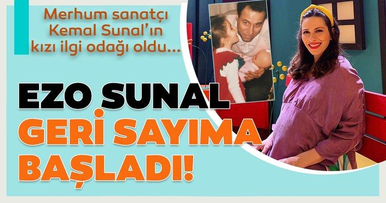 Merhum sanatçı Kemal Sunal'ın kızı Ezo Sunal'dan karnı burnunda poz! Doğum için gün sayan Ezo Sunal'ın paylaşımı ilgi odağı oldu