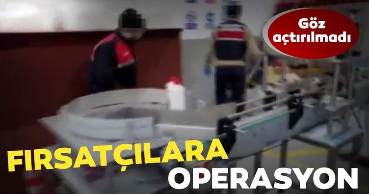 Son dakika: Coronavirüs fırsatçılarına operasyon