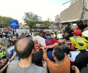 Ünlü isimlerden İzmir depremi paylaşımları