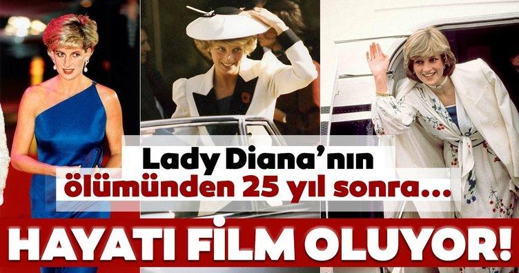 Lady Diana'nın hayatı film oluyor! Lady Diana'nın hayatının kritik anları...