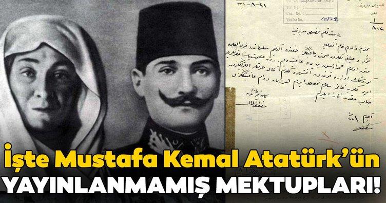 İşte Atatürk'ün yayınlanmamış mektupları!